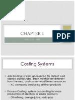 4 Job Costing