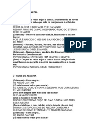 Letra Cantata Alegria