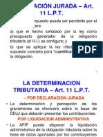 16 - PROCEDIMIENTO FISCAL Determinacion de Oficio