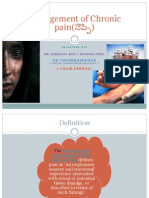 Management of Chronic Pain-final