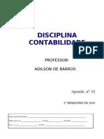 FATEC-SBC Apostila n 2 Contabilidade 2 Sem 2010 Pag-01-16
