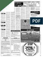Petites annonces et offres d'emploi du Journal L'Oie Blanche du 12 septembre 2012