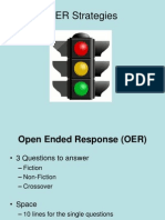 Open Ended Response