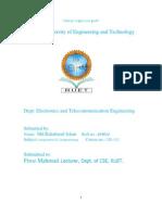 C program lab report