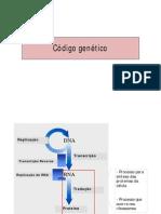 Aula 4 - Código genético [Modo de Compatibilidade]
