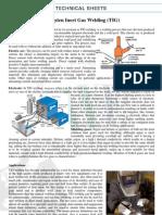 Doc 87 Technical Sheet - Tig Welding