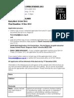 NYOS 2013 Application Form