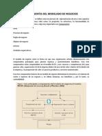 Componentes Del Modelado de Negocios