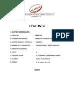 Lesiones en el  Derecho Penal Peruano