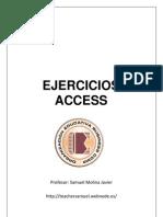 Ejercicios de Access