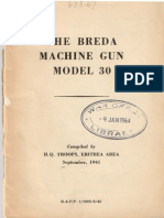 Breda Model 30 Manual