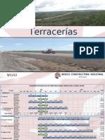 Terracerias... Septiembre 2012 (Corte Al 07-Sep-2012)