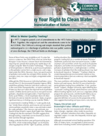 Trading Away Your Right to Clean Water