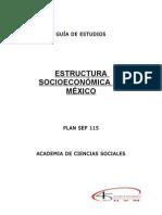 552401 Esctructura Socioecon%F3mica de M%E9xico