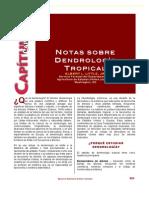 Notas Sobre Dendrologia Tropical