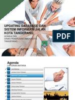 Bahan Presentasi Laporan Antara Sistem Informasi Jalan Kota Tangerang