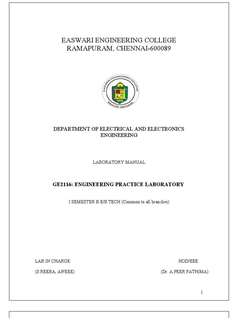 EPL Lab Manual   Rectifier   Amplitude