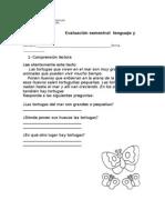 Prueba Lenguaje 2 Basico