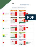 Calendario 2012-13