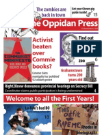 The Oppidan Press - Edition 1 (O-Week) - 2012