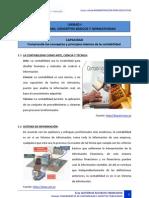 Fundamentos de Contabilidad 1 Principios Contables Pcga Ejemplos