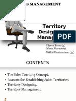 Sales Territory Design & Management