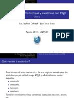 Curso de LaTeX - pres2