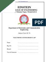 ESD - Lab - Manual - Einstain