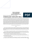 State of Michigan Senate Bill 1040