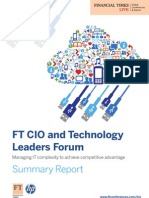 Ft Hp Cio Event Summary Report (a4) Final Version
