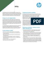 HP Enterprise Mobility Solutions for SAP