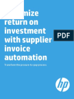 Transforming the Procure to Pay Process