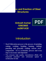 Fabrication and Erection of Steel Structure