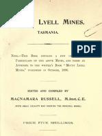 Russell - Mount Lyell Mines, Tasmania (1898)
