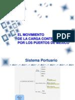 El Movimiento de La Carga Contenerizada Por Puertos de Mexicointernet