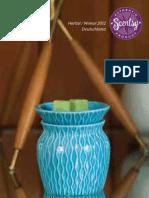 Scentsy Katalog Deutschland- Herbst/Winter 2012/13