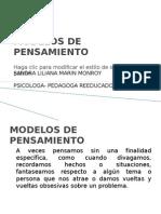 Modelos de Pensamiento Para Clase