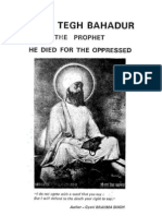 Guru Tegh Bahadur - The Prophet He Died for the Opressed