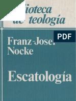 Nocke, Franz Josef - Escatologia