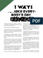 101 Ways to Make Everybody's Day Weirder