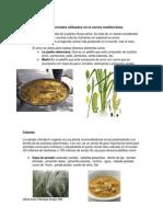 Tipos de cereales utilizados en la cocina mediterránea