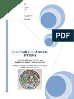 European Educational Systems