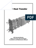Plate and Frame Heat Exchanger IOM