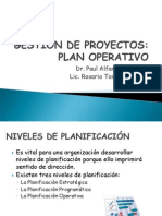 Gestión de Proyectos UPCH 2012