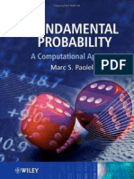 Fundamental Probability a Computational Approach