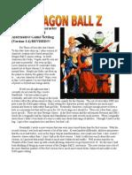 Dragon Ball Z D&D Version 3
