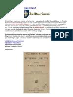Firmicus Maternus Libros 1 Al 3