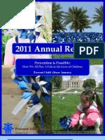 Prevent Child Abuse America Annual Report 2011