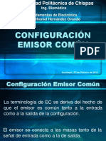 3.4. Configuración en Emisor Común