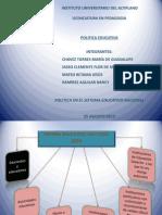 Diapositivas Pol. Educ. Equ. 2 Unid. II